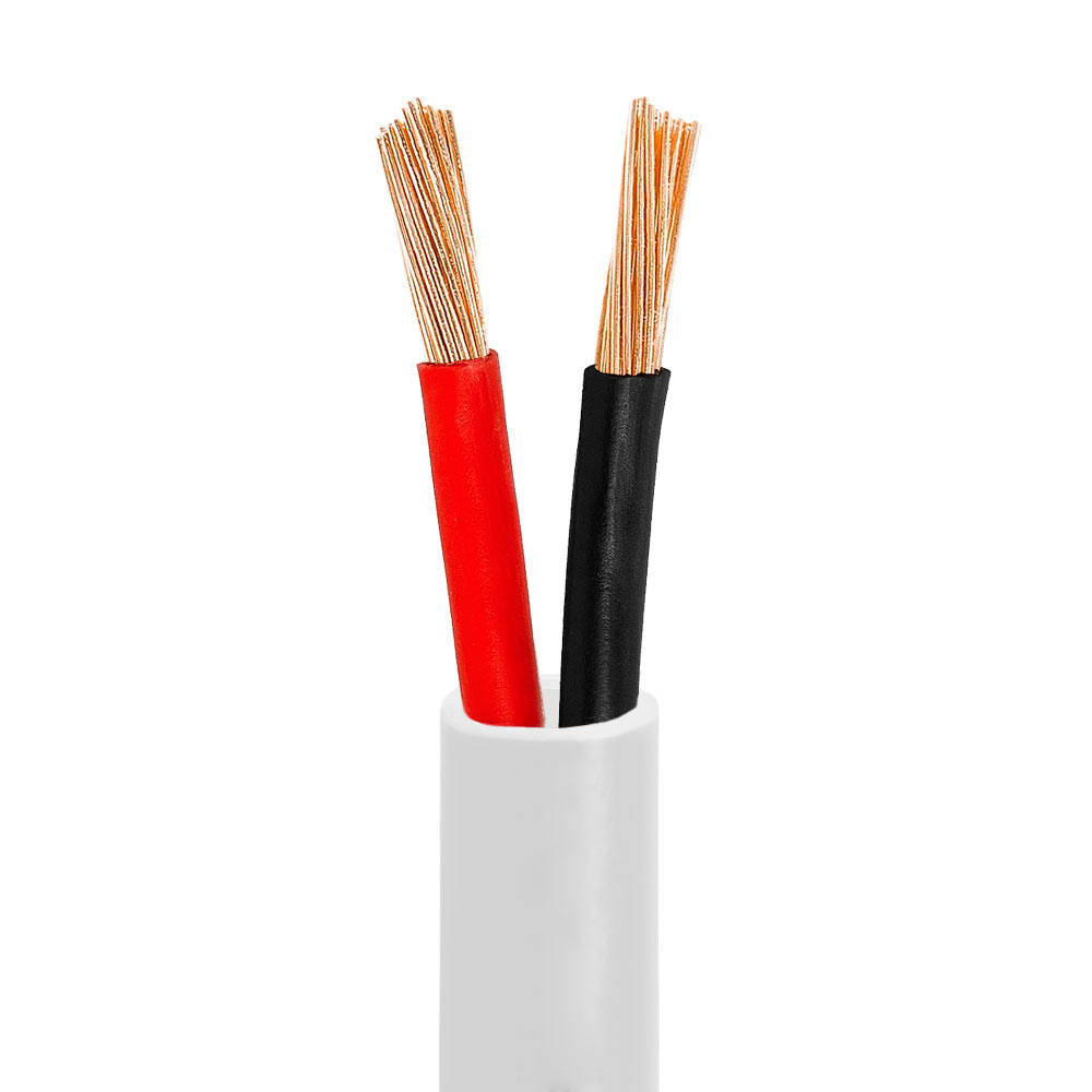 Redco 8/8 White Speaker Cable