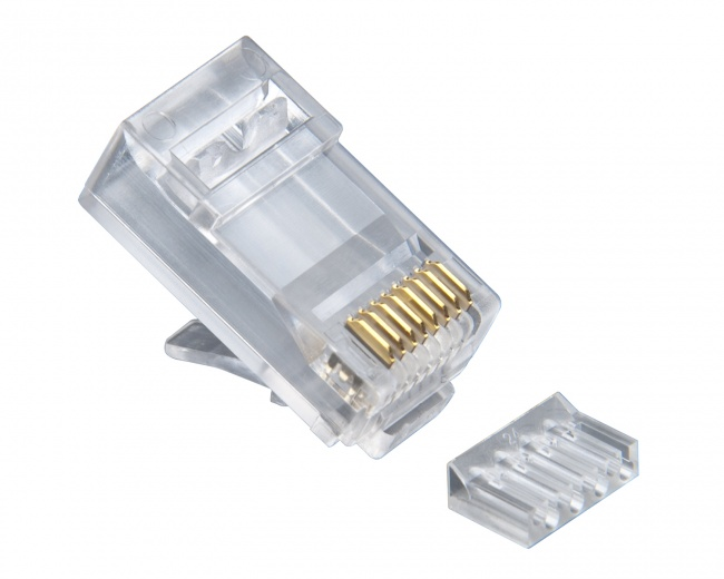 Platinum 106187C Standard 2pc CAT6 RJ45 Connector 25pc Pack | Redco ...
