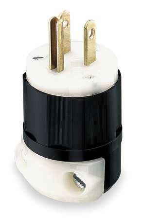 LEViton 3 prong male plug
