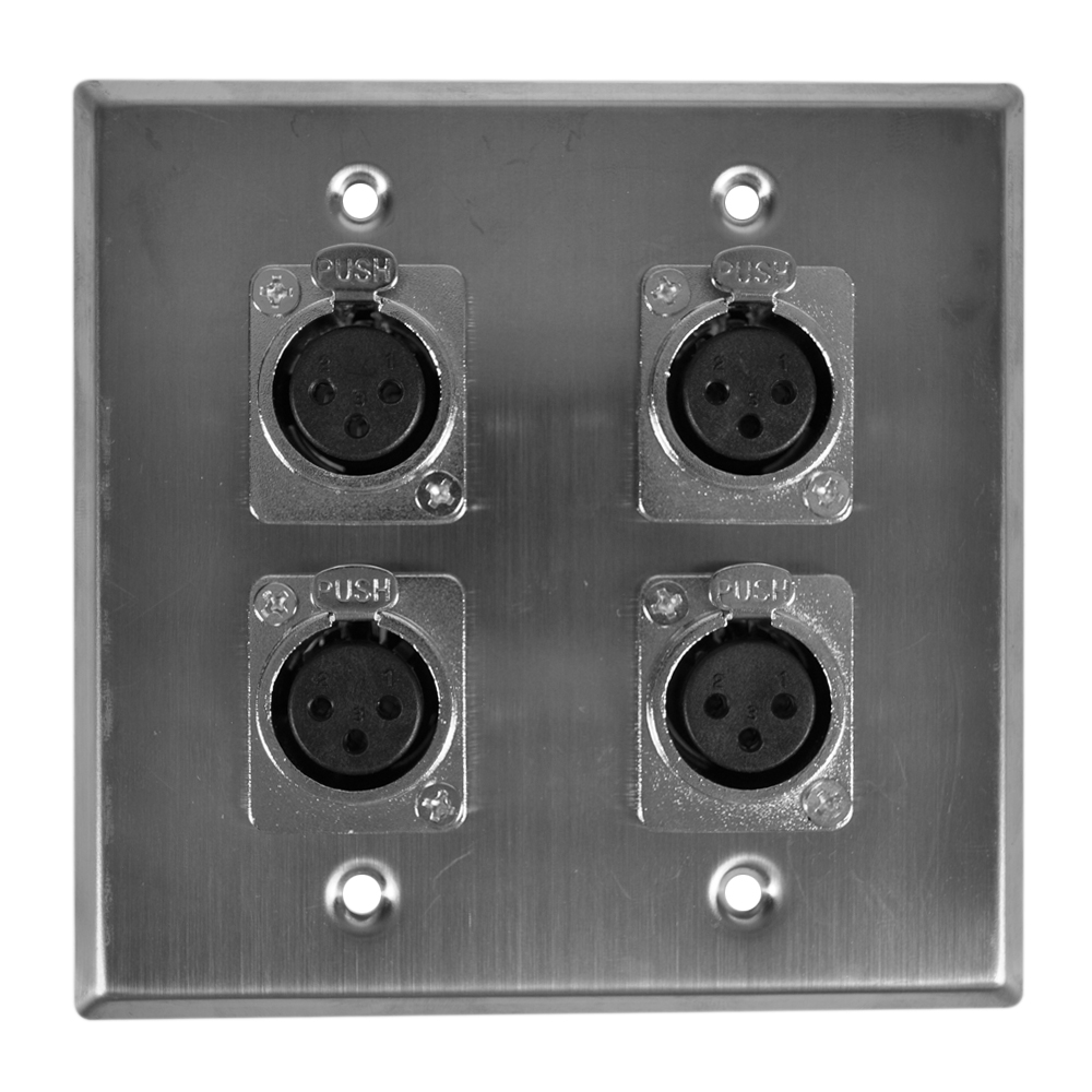 Redco Wpl 204f Audio Wiring Wall Plates